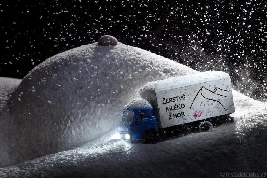 Peisaje de iarna - Petr Sládek