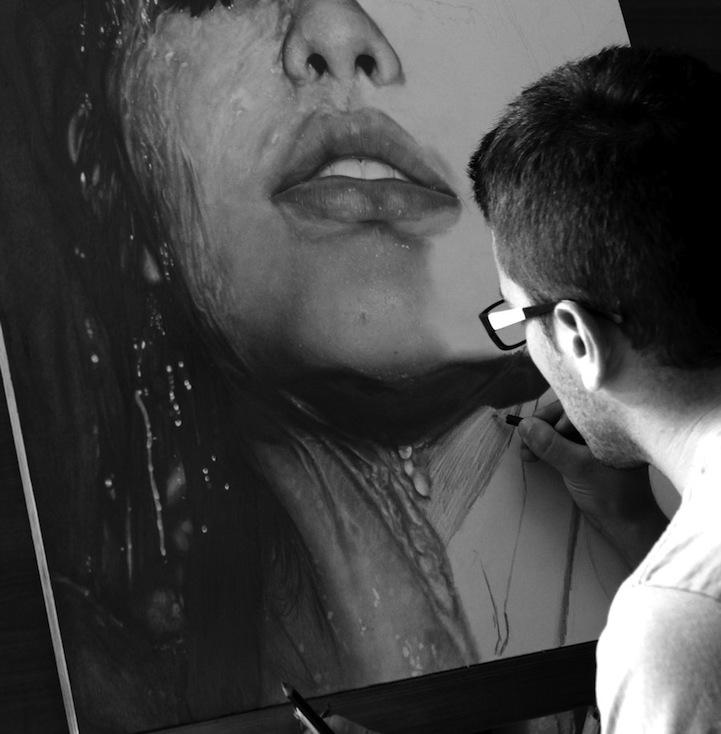 Diego Fazio  Desen in creion