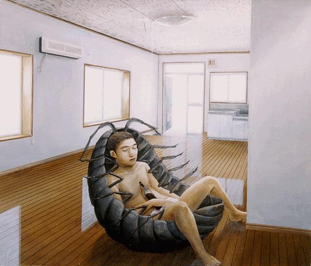 Picturile suparealiste ale lui Tetsuya Ishida