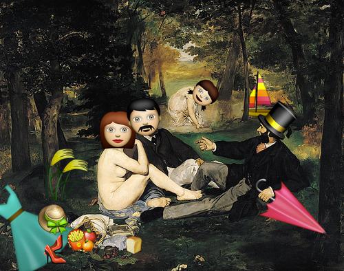 Le déjeuner sur l'herbe - Édouard Manet