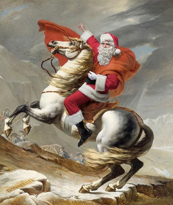 Santa Classics – Moş Crăciun in cele mai faimoase tablouri