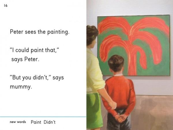 O carte pentru copii își bate joc de lumea artei