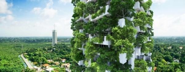 Cea mai mare grădină verticală rezidentială din lume