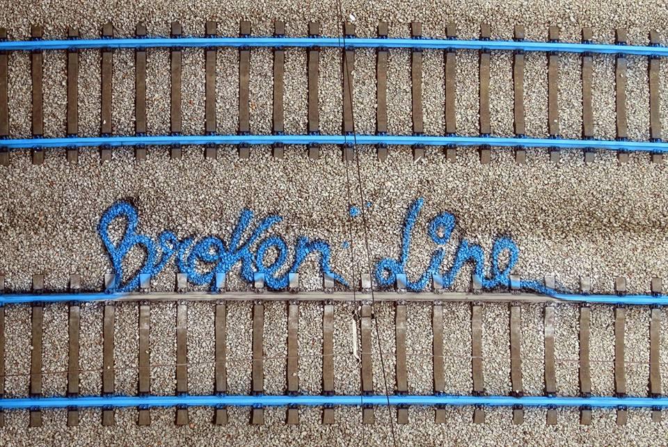 Broken Line - Bordalo II @REFER