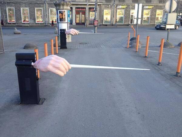 O propunere pentru parcarea Operei sau Ateneului