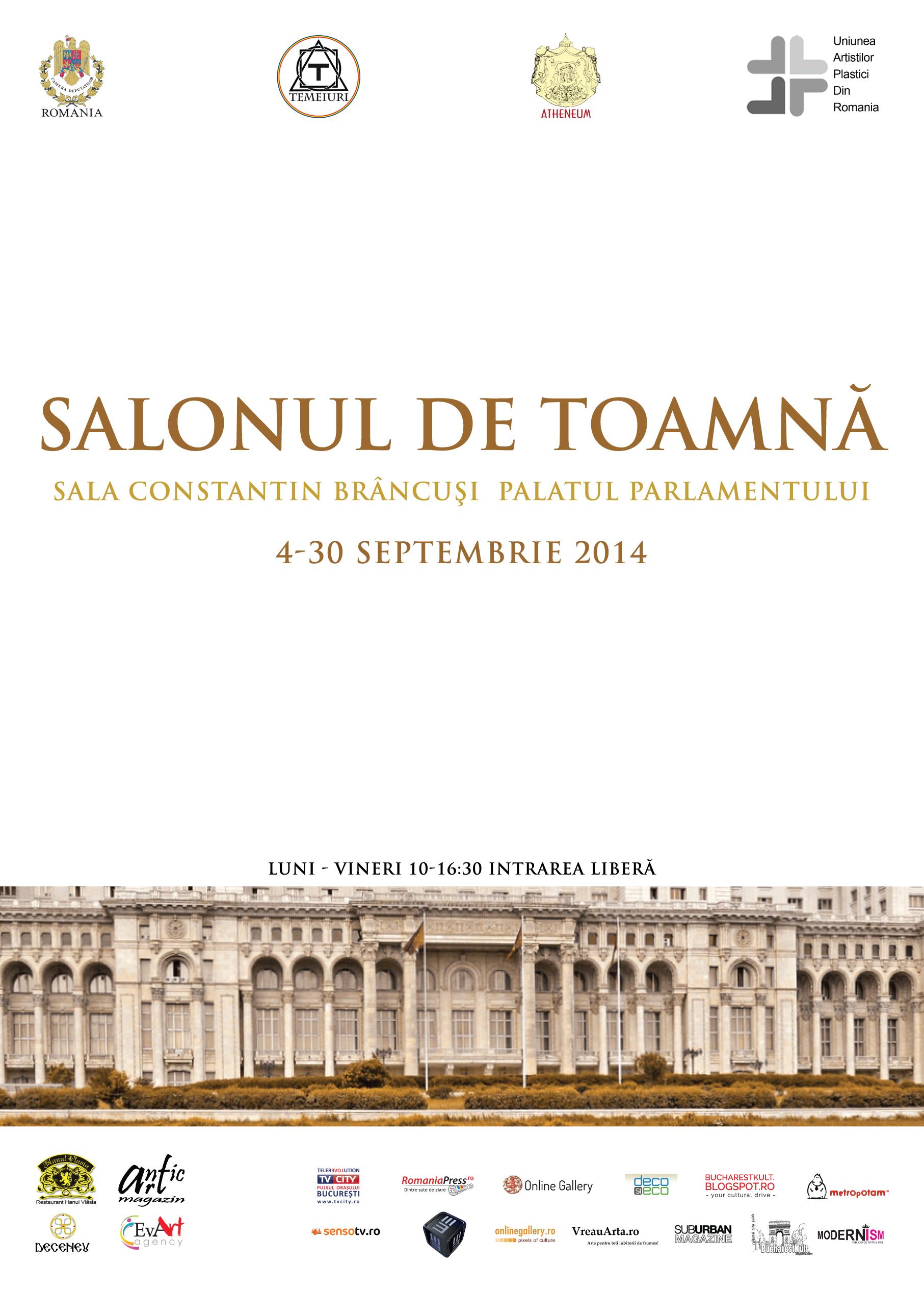 Salonul de Toamna in sala Constantin Brancusi a Palatului Parlamentului
