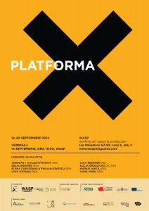 VERNISAJ - PLATFORMA X