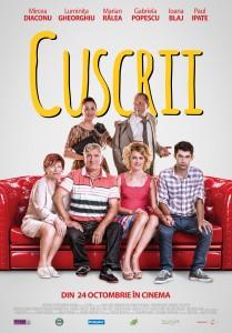 """""""Cuscrii"""", cea mai nouă comedie a toamnei intră în cinematografele din toată țara de pe 24 octombrie."""