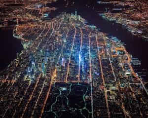 New York-ul fotografiat de la 2200 de metri inaltime – Imaginile iti taie rasuflarea